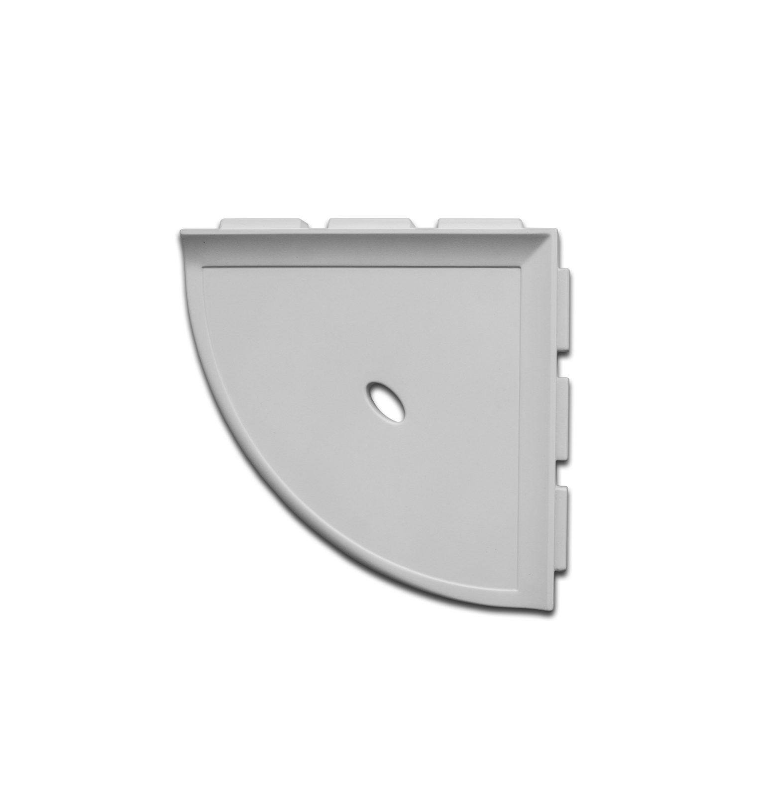 corner shelf gray
