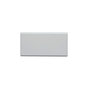 Grey matte tile bullnose