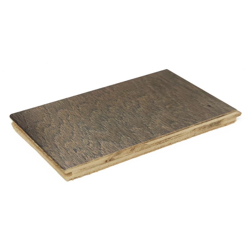 Canoe Bay Hickory Gentle Shade Engineered Hardwood Flooring Sample