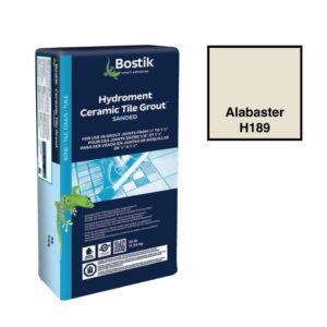 Bostik Sanded Hydroment Ceramic Tile Grout - Alabaster H189