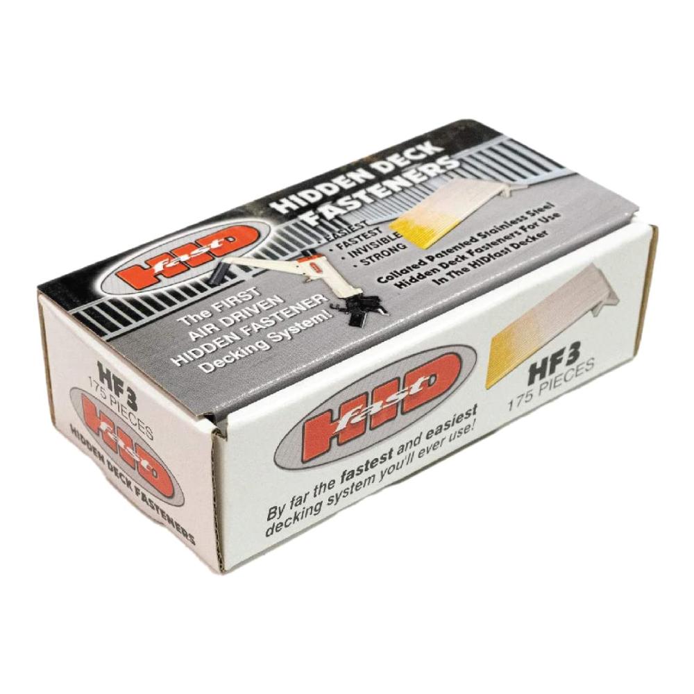 HIDFast Hidden Deck Fasteners - 175 Count