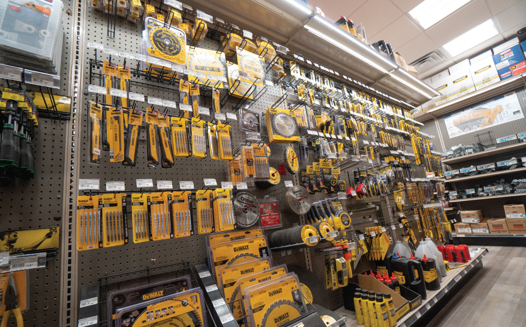 Aisle with Hardware Products