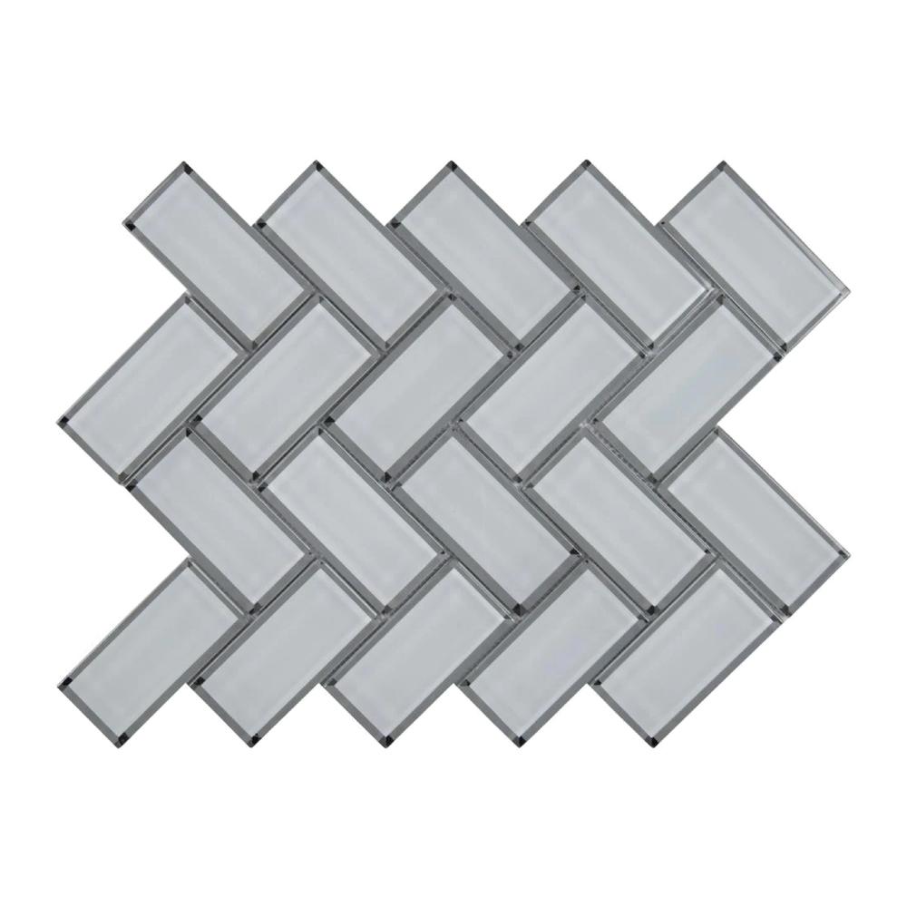 MSI Ice Bevel Herringbone Mosaic