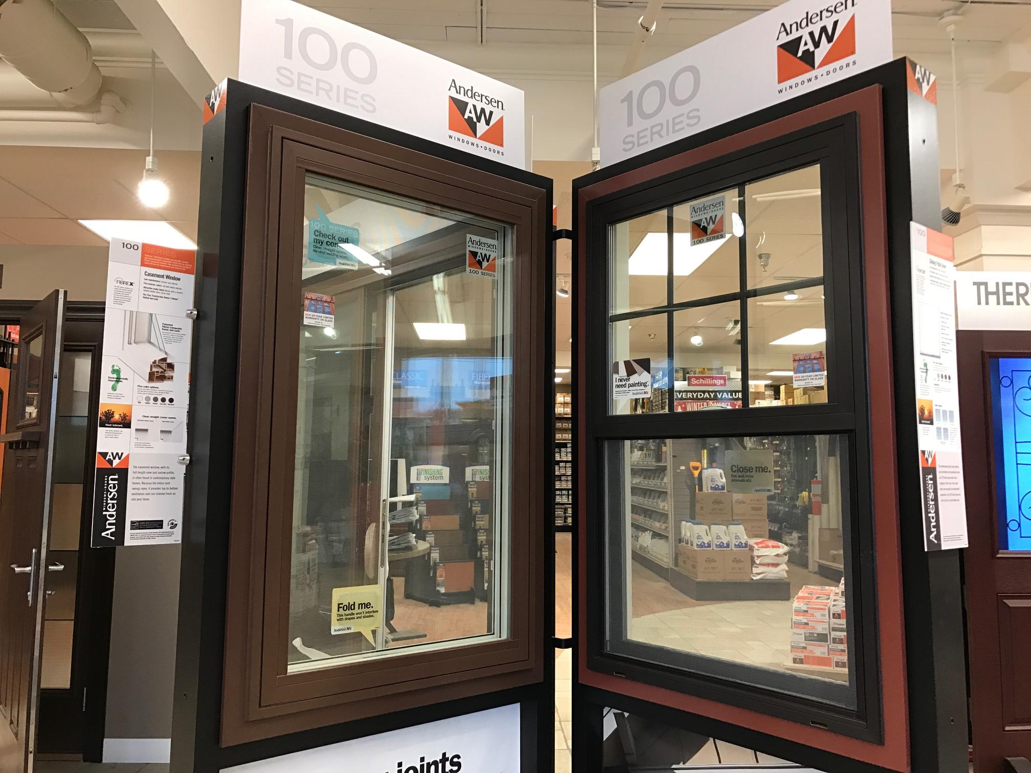 Andersen Windows And Doors Schillings Showroom