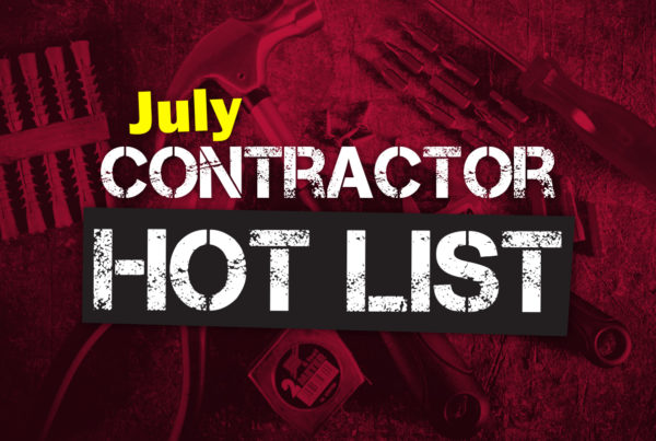 july contractor hot list