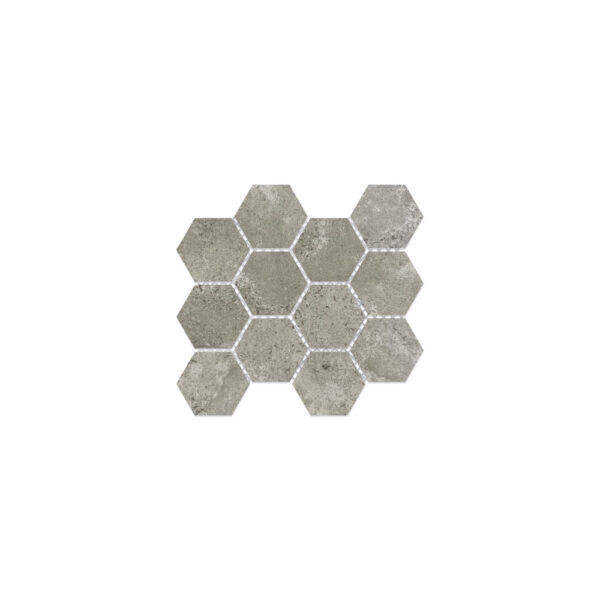 Virginia Tile Metric Light Gray Mosaic