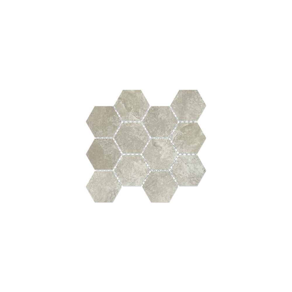 Virginia Tile Taupe Mosaic