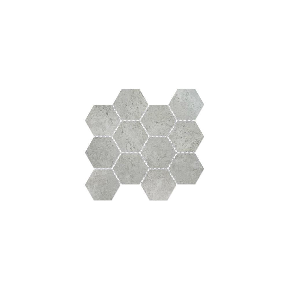 Virginia Tile Metric White Mosaic
