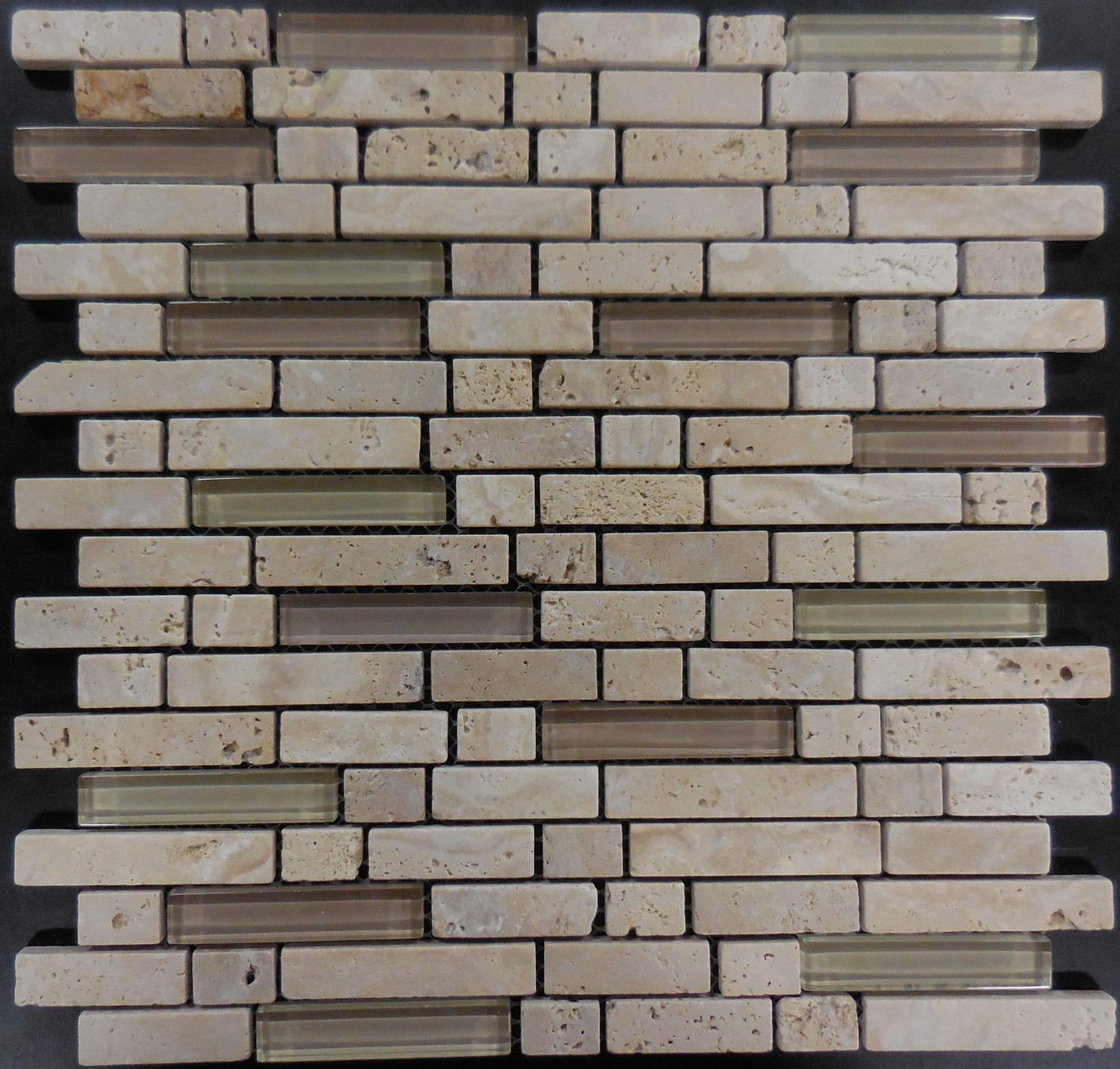 Ms115 Stone Brick Series Random Brick Glass And Stone