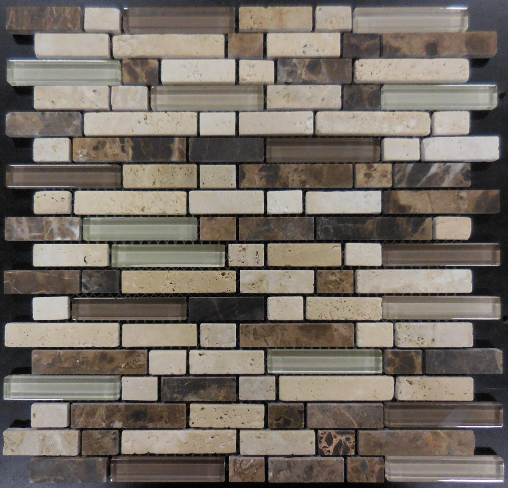 Ms215 Gl Tile And Stone Mosaic Backsplash