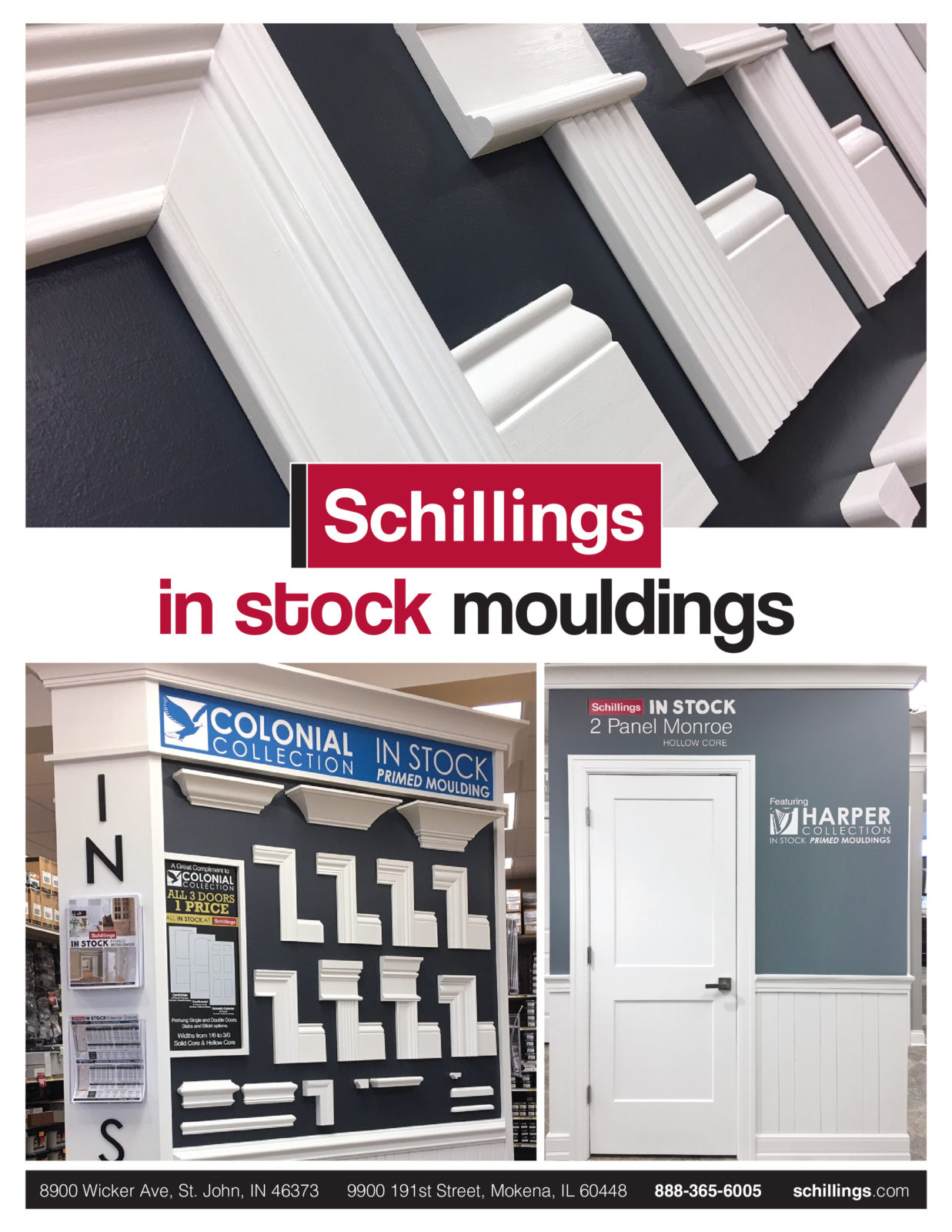 Mouldings Hot List Brochure 3D