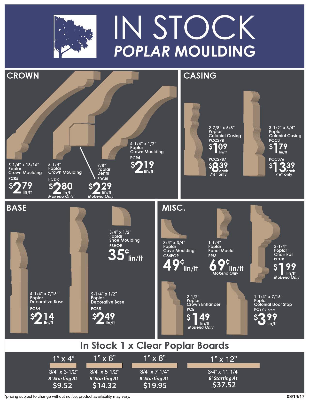 Poplar Moulding