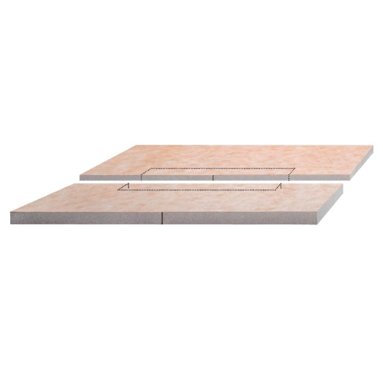 Kerdi Shower Pan Linear Drain.Kerdi Linear Shower Pan 55 X 55 Center Drain
