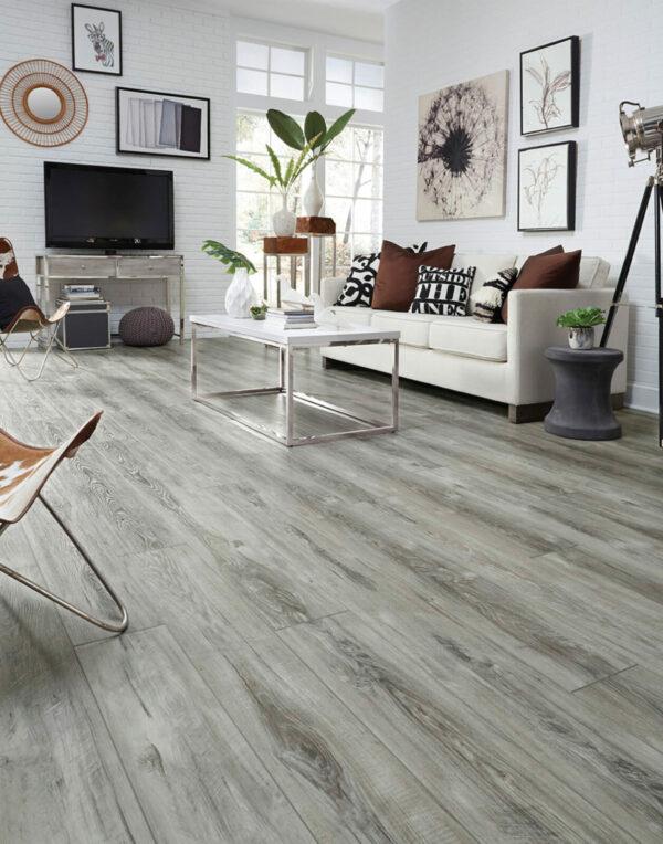 Modernized Living Space with Adura Napa Spirit Vinyl Flooring
