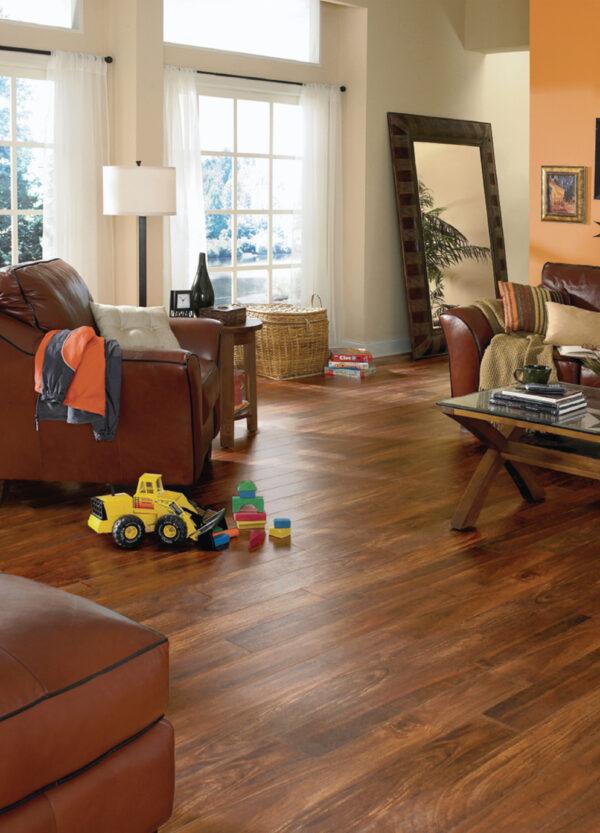 Natural Plains Vinyl Flooring Room Scene