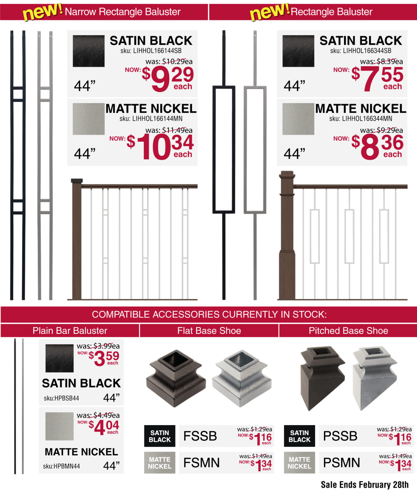 Stair Parts Sale