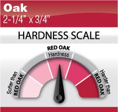 """Oak 2-1-4"""" x 3-4"""""""