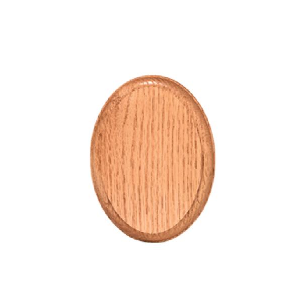 Oval Oak Rosette