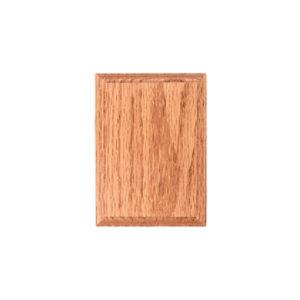 Square Oak Rosette