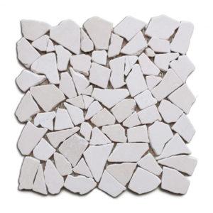 stone pebble mosaic tile