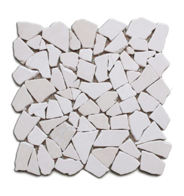 stone pebble mosaic tile