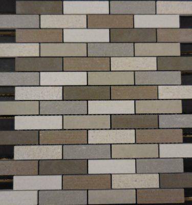 PTB6026 porcelain mosaic earth backsplash