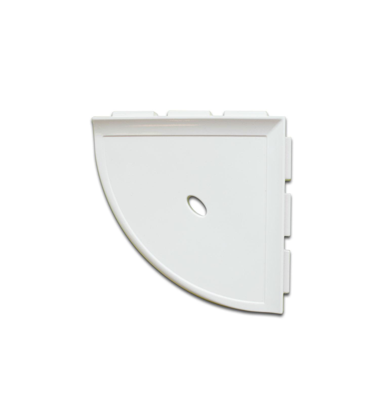 Corner Shelf p white