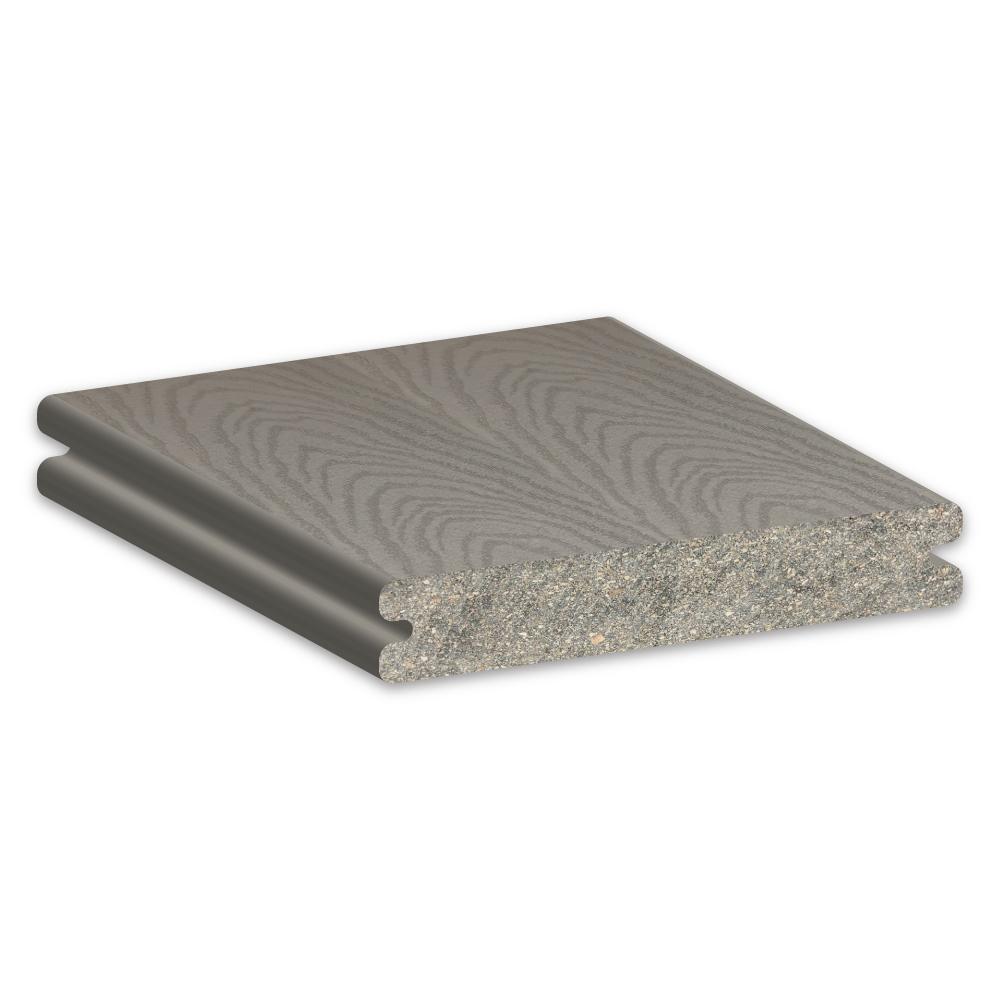 Trex Select Pebble Grey Decking Sample