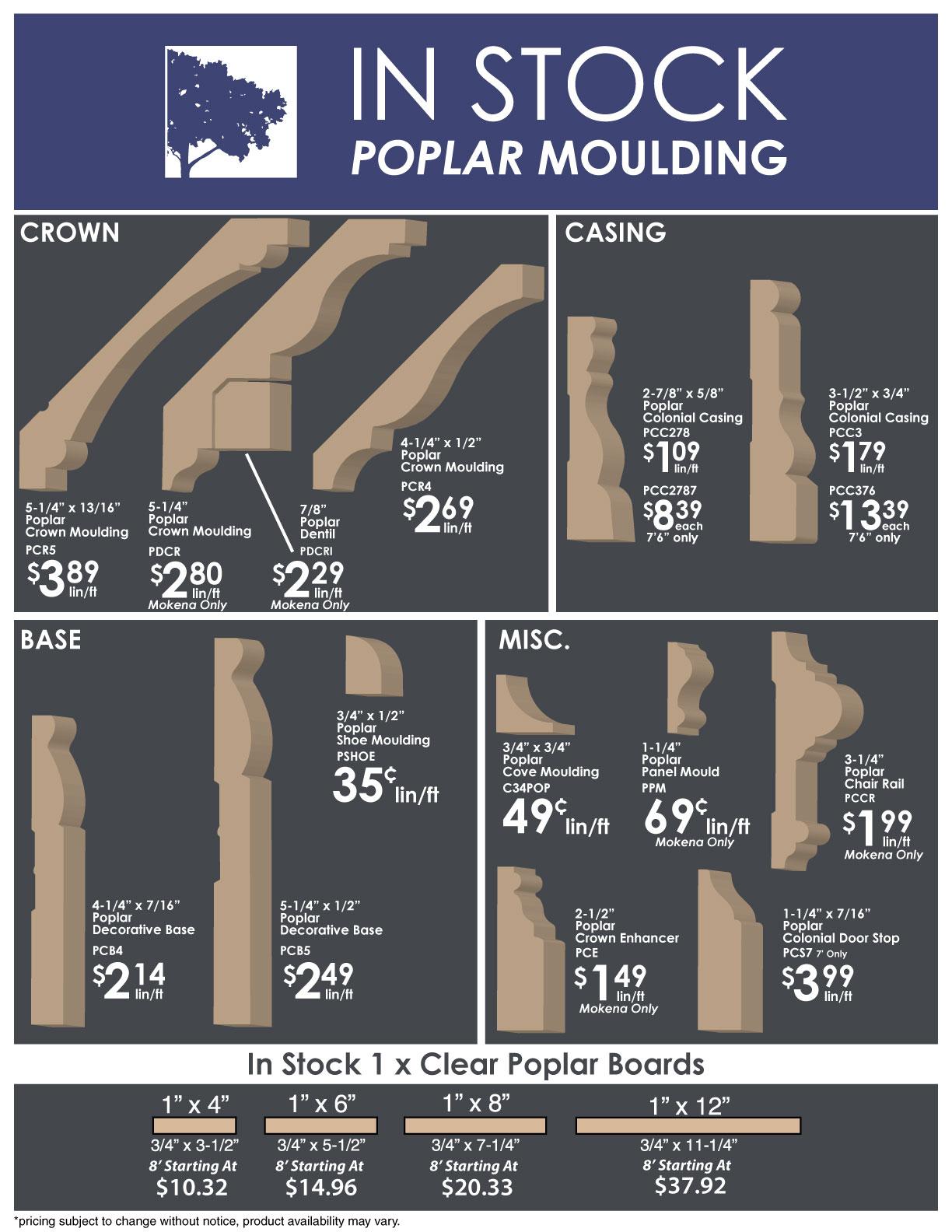 Poplar-Moulding
