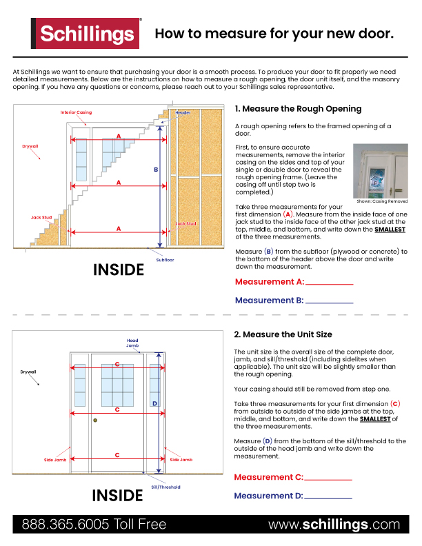 Rough Opening Measurement Guide