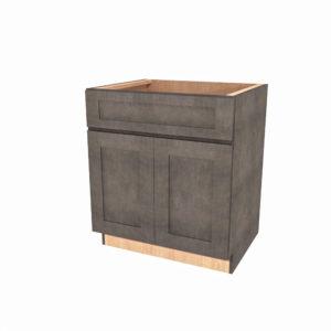 "Jamestown Maple Slate Butt Door Sink Base - 30"" x 34-1/2"""