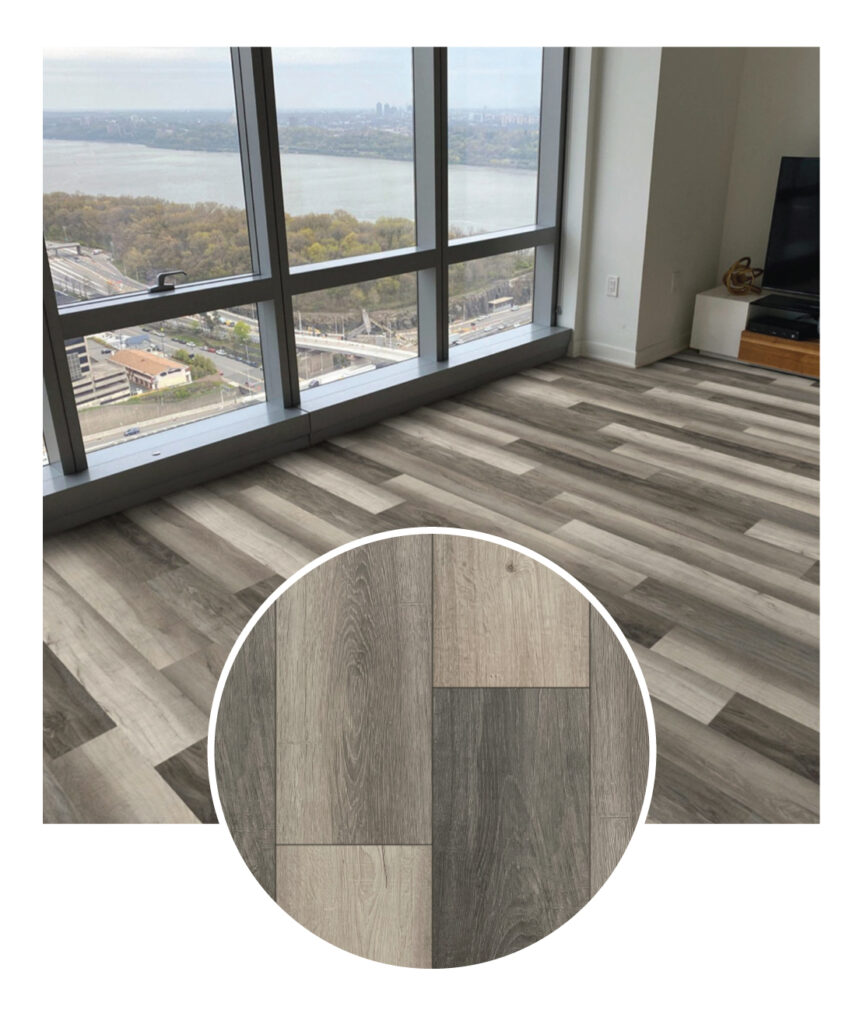 MSI Everlife Harbor Laminte Flooring Sample Room