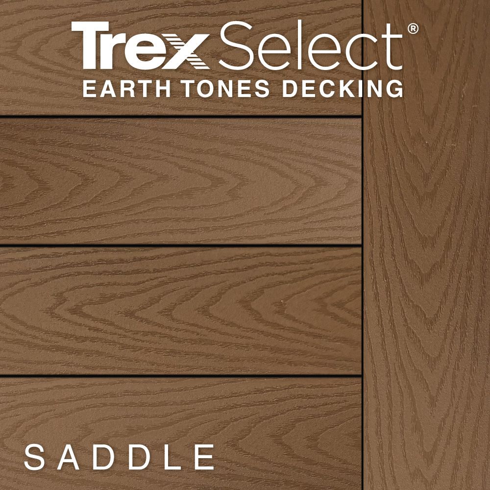 Color Selector Trex Select Earth Tones Saddle Decking