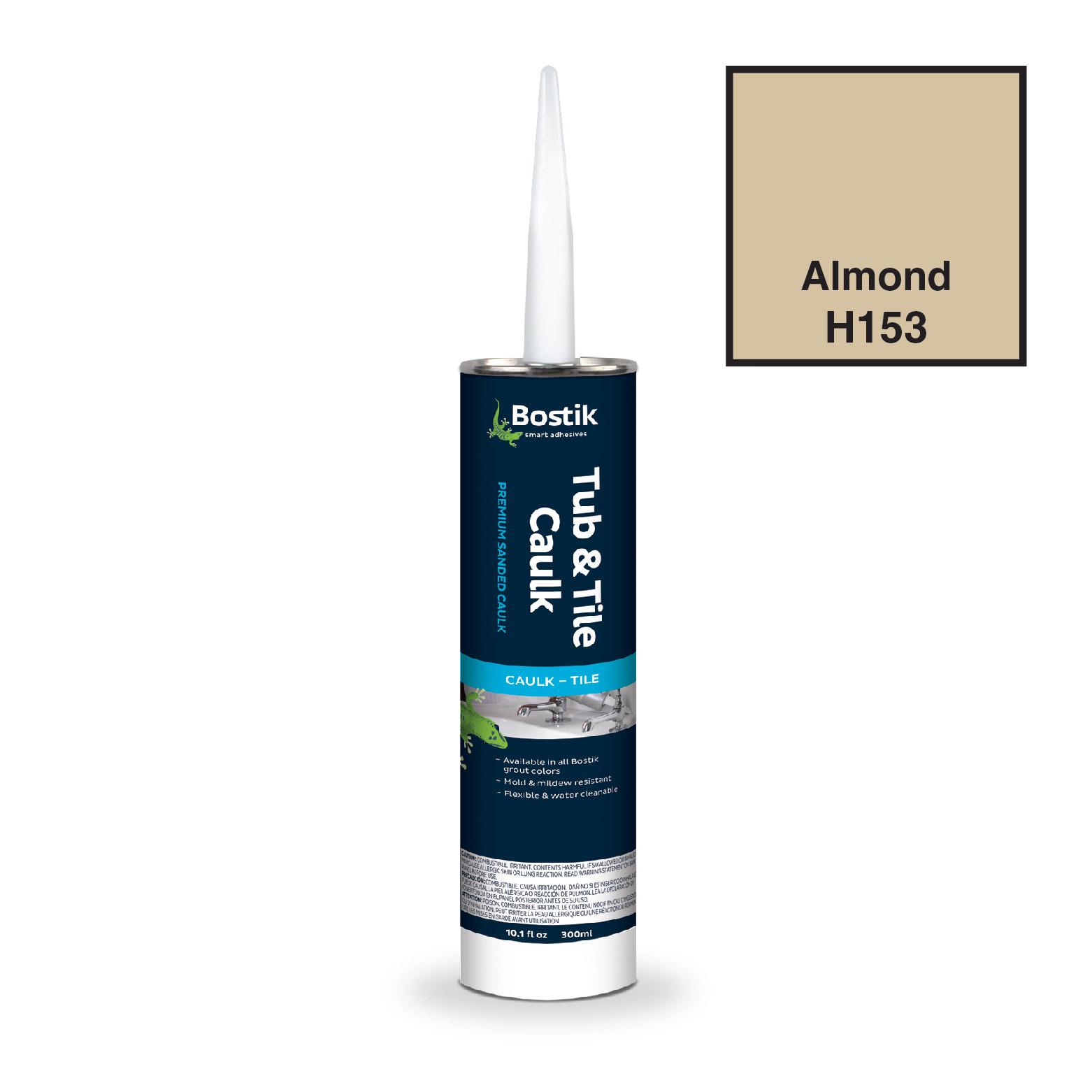 Bostik Tub & Tile Caulk Sanded Almond- H153CS