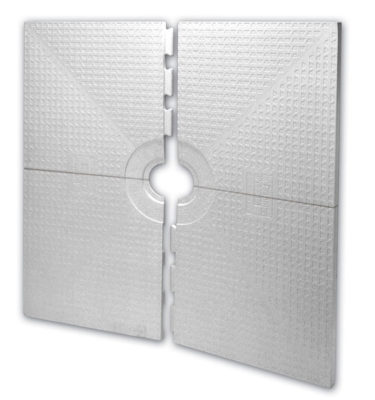 Schluter Center 72 x 72 or 48 x 48 shower kit