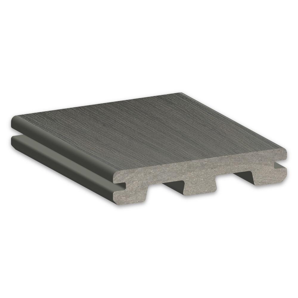 TimberTech Edge Prime+ SeaSalt Gray Decking Sample