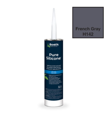 french gray silicone caulk by bostik