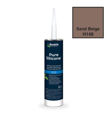 Sand beige silicone by bostik