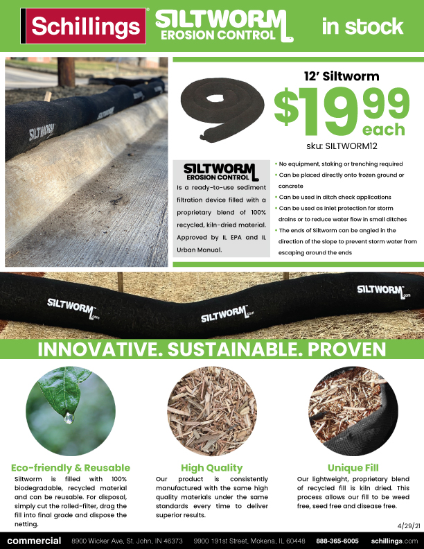 In-Stock Siltworm Product Sheet