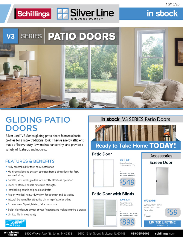 Silver-Line-Patio-Door-Hot-List