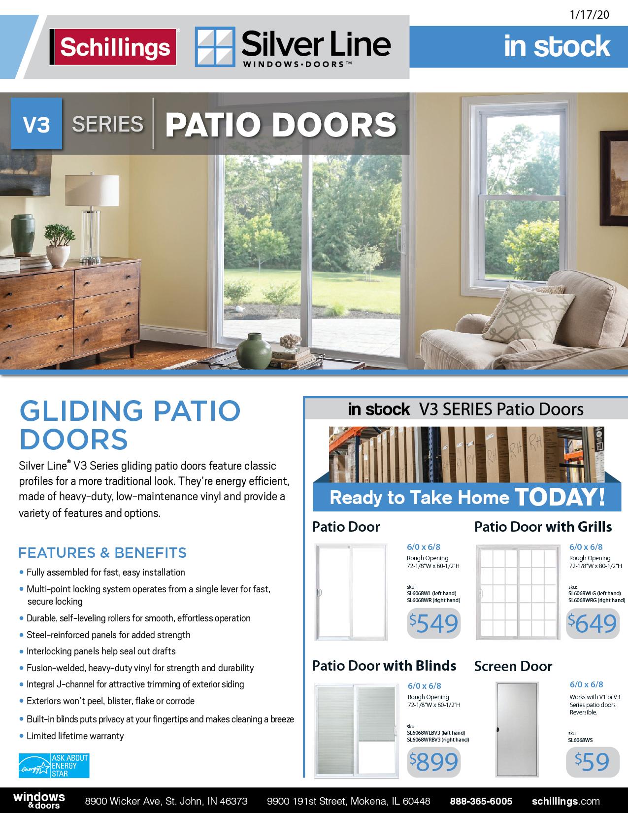 Silver-Line-Patio-Door-Hot-List