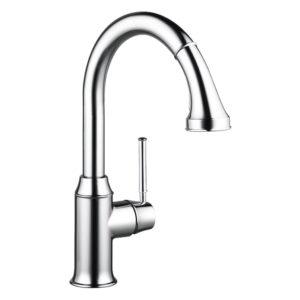 Talis-C-2-Spray-Chrome-High-Arc-Kitchen-Faucet