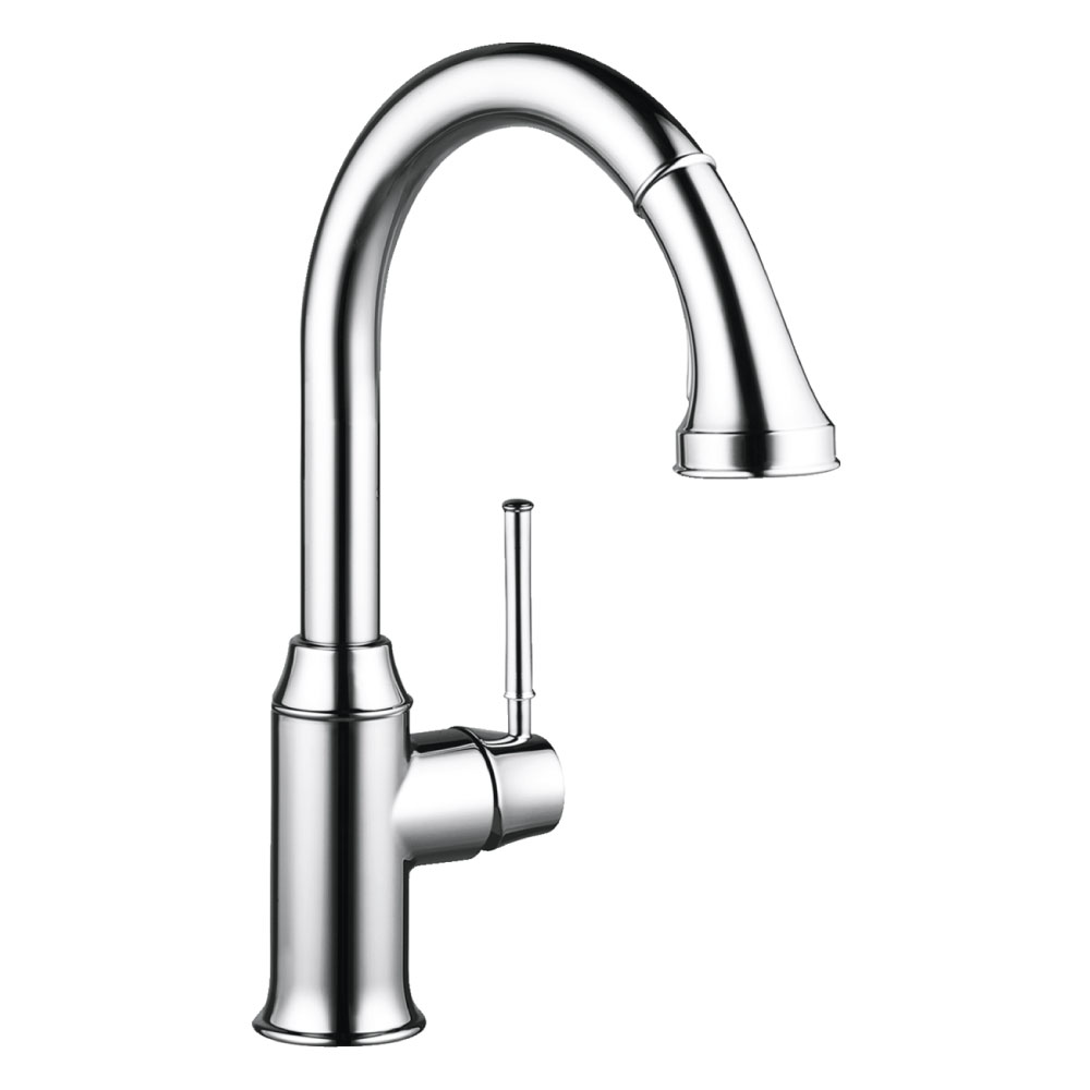 Talis-C-2-Spray-Chrome-High-Arc-Kitchen-Faucet