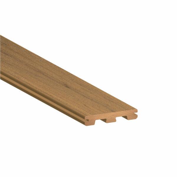 TimberTech Edge Prime+ Coconut Husk Grooved Edge Deck Board