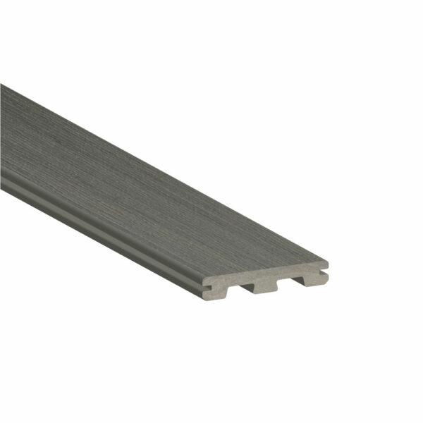 TimberTech Edge Prime+ SeaSalt Gray Grooved Edge Deck Board