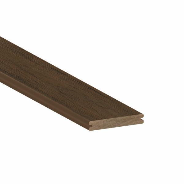 TimberTech Pro Reserve Dark Roast Grooved Edge Deck Board