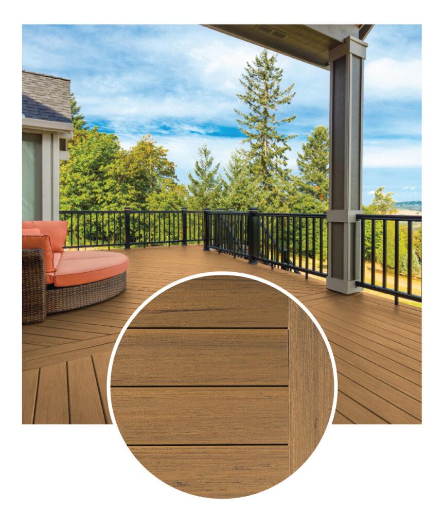 TimberTech Coconut Husk Decking Sample & Deck