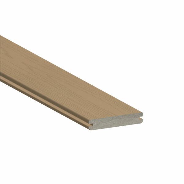 TimberTech Azek Harvest Brownstone Grooved Edge Board