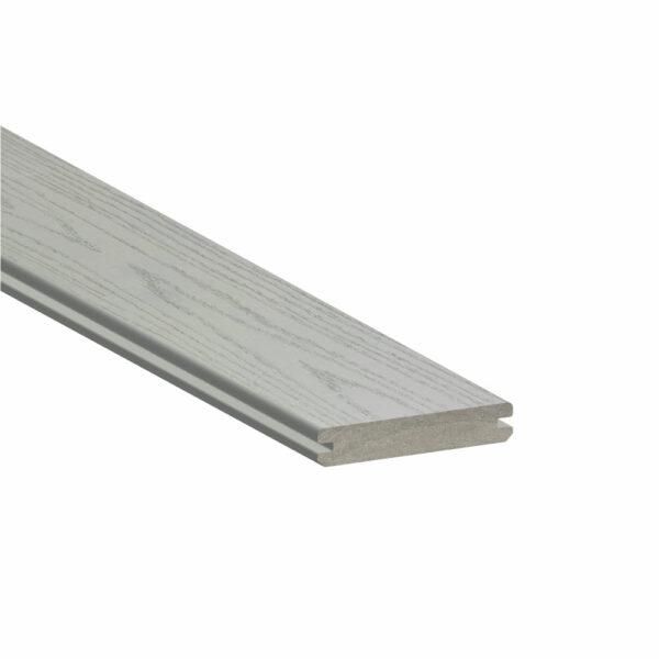 TimberTech Azek Harvest Slate Gray Grooved Edge Board