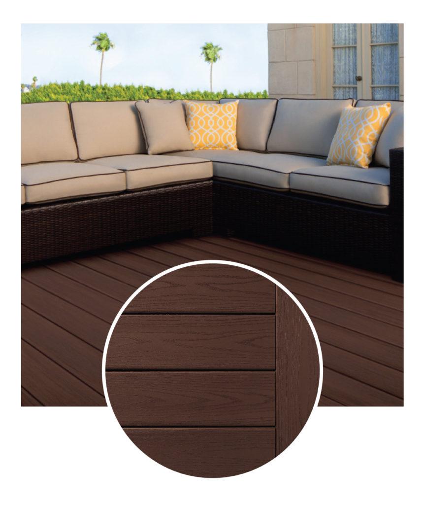 TimberTech Azek Kona Decking Sample & Deck